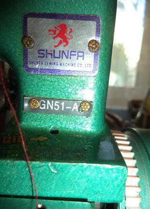 """Оверлок новый 3- х ниточный """"SHUNFA GN-51A"""""""