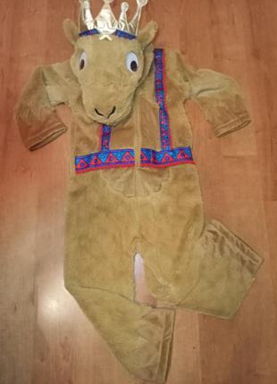 """Костюм  карнавальный""""верблюжонок"""" на мальчика 5-6 лет"""
