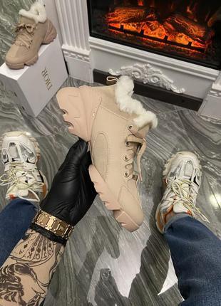 Зимние ботинки{мех}