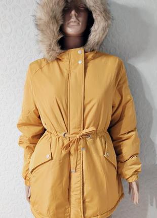 Женская теплая парка, зимняя куртка
