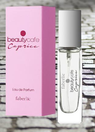 Парфюмерная вода для женщин beauty cafe caprice