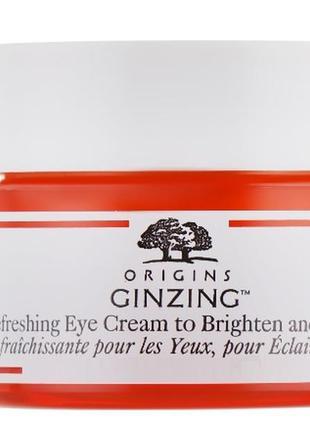 Освежающий крем для кожи вокруг глаз origins ginzing refreshin...
