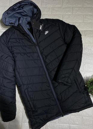 Мужская зимняя удлиненнпя куртка