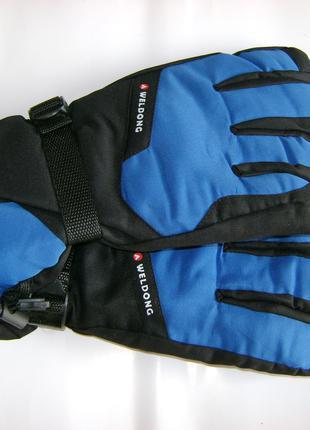Мужские лыжные перчатки Weldong