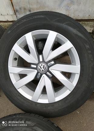 Диски литые Volkswagen Passat VW Jetta Golf Caddy R16(5*112)