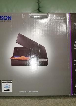 Сканер планшетный Epson Perfection V37