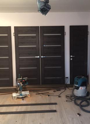 Двери входные и межкомнатные (установка, ремонт)