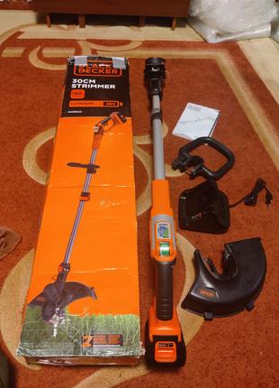 Триммер аккумуляторный Black&Decker GLC3630L20-QW