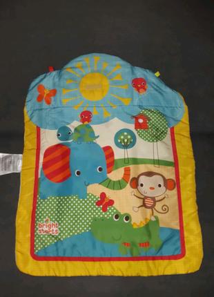 Детский развивающий коврик bright starts