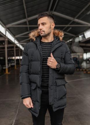 Мужская зимняя теплая куртка Арктика