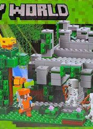 Конструктор bela 10623 minecraft майнкрафт храм в джунглях 604...