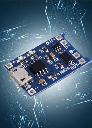 Micro USB Контроллер заряда/разряда для li-ion аккумуляторов T...