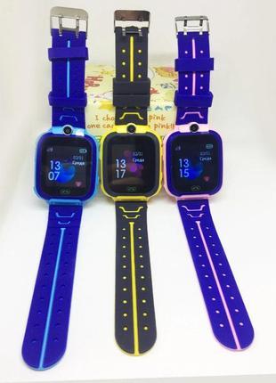 GPS Детские умные часы сенсорные Smart baby Q528, смарт часы S...