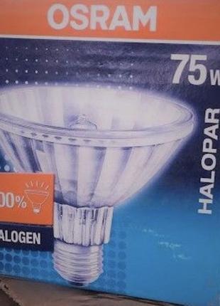 Оптом Лампа галогенная Osram HALOPAR 75W PAR-30 E27