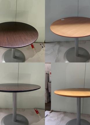 Столы на металической ножке