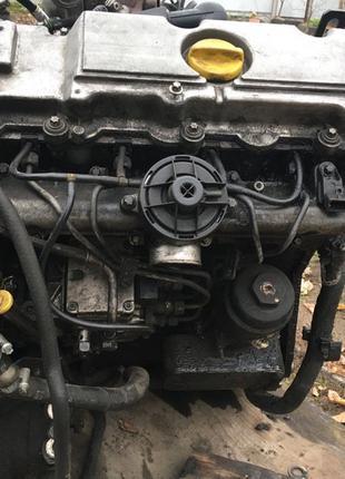 Opel vectra b мотор 2.0 tdi ТНВД Турбіна генератор стартер