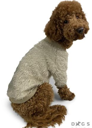 Одежда для собак свитер пушистик трикотаж унисекс