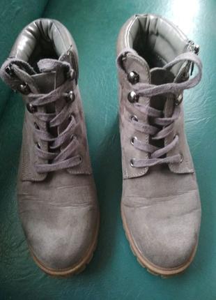 Ботинки 37размер