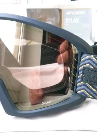 Маска очки лыжная горнолыжная GIRO DYLAN + ЛИНЗА