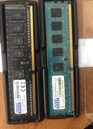 Оперативная память ПК DDR 3 4gb(2+2)DDR2 2gb(1+1)