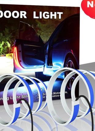 Светодиодная LED лента стробоскоп подсветки открытия дверей авто