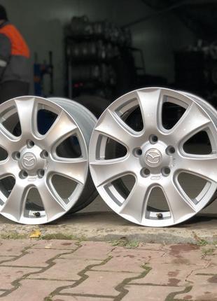 Легкосплавные диски Mazda. R 16. 5*114,3.