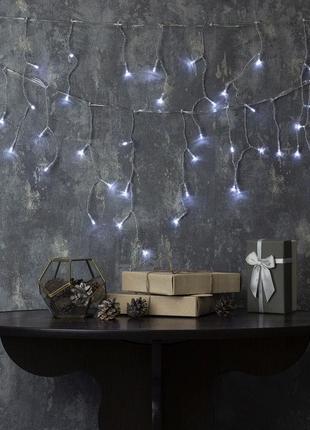 "Гирлянда светодиодная комнатная ""Бахрома"" LedGO, 3 х 0,5 м, 11..."