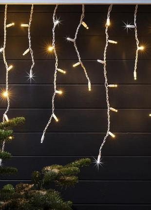 "Гирлянда светодиодная уличная ""Бахрома"" LedGO, 3 х 0,6 м, 120 LED"