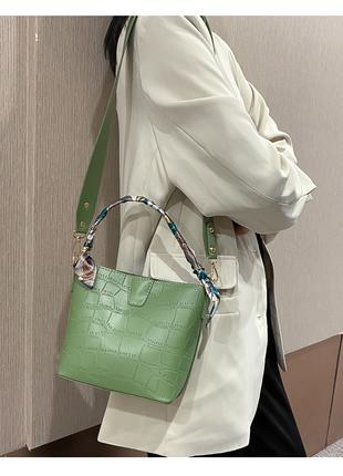 Женская сумка с платком