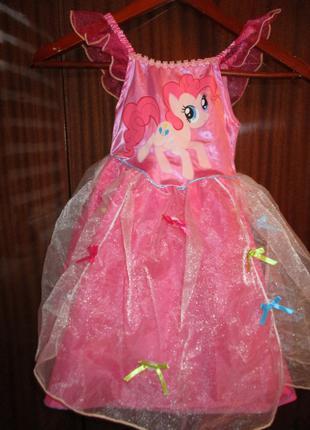 Карнавальное платье My little pony