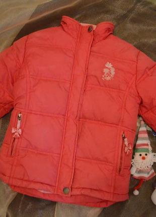 Пуховик для девочки зимняя куртка