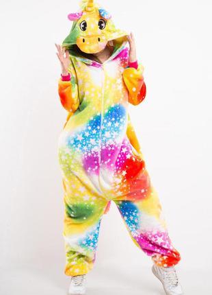 Звездный единорог пижама 🦄 кигуруми/ теплая пижама