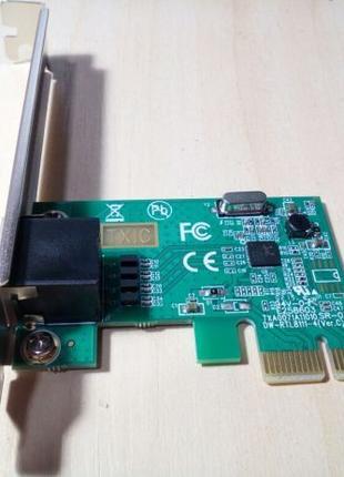 Сетевая карта PCE PCIeX ip телефония