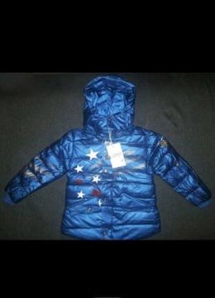 Курточка 104-116 см рост Новая куртка