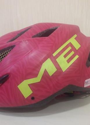 Вело шлем фирмы Met Италия. Оригинал. Новый велосипедный шлем ...