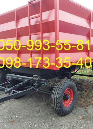 Прицеп 2 ПТС 4 - прицеп тракторный самосвальный