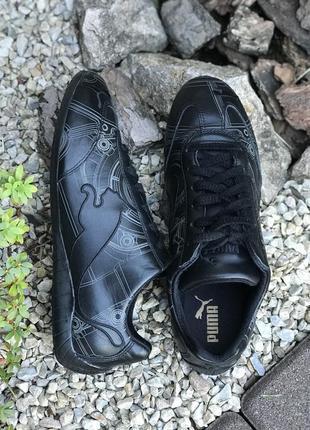 Оригинальные фирменные кожаные кроссовки puma speed cat 39-40р.