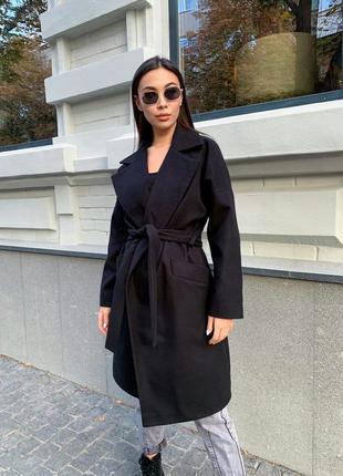 Утепленное  демисезонное пальто, пальто зимнее
