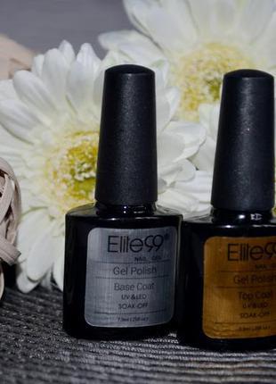 База и топ гель лака для ногтей elite99 оригинал