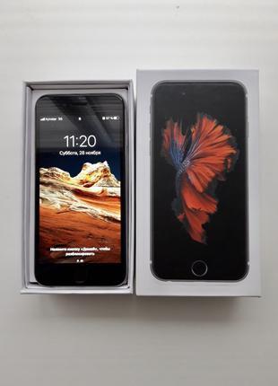 Iphone 6s 16gb silver (+3 чехла)