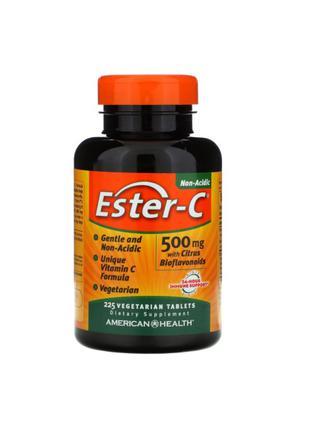 Витамин C, Ester-C, 500 мг, American Health, 225 таблеток
