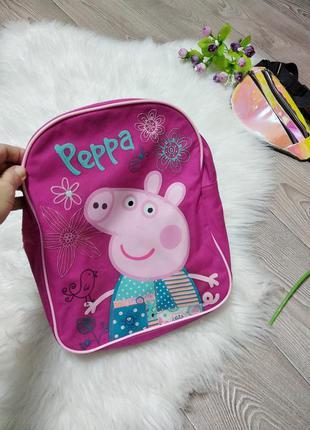 Детский рюкзак ранец свинка пеппа peppa pig для девочки