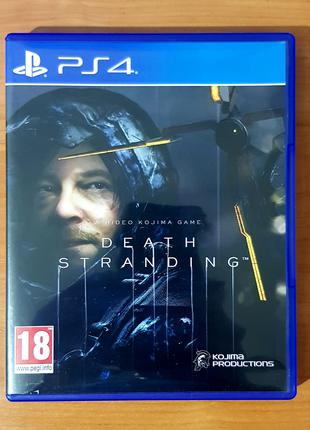 Диск DEATH STRANDING for PlayStation 4 Игра для PS4