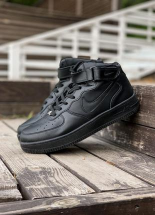 Кроссовки Nike Air Force High Black
