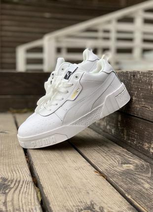 Кроссовки Puma Cali White (мех)
