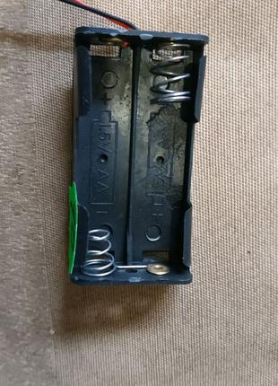Бокс для двух пальчиковых батареек