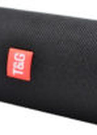 Bluetooth-колонка TG-117 портативная влагостойкая. Цвет: черный