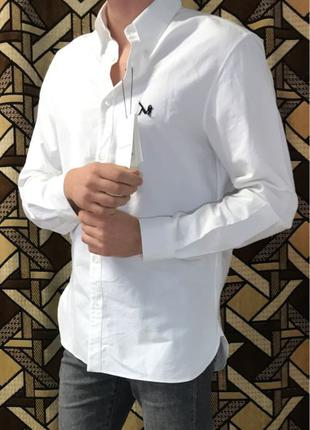 CALVIN KLEIN 205W39NYC рубашка с вышитой аппликацией