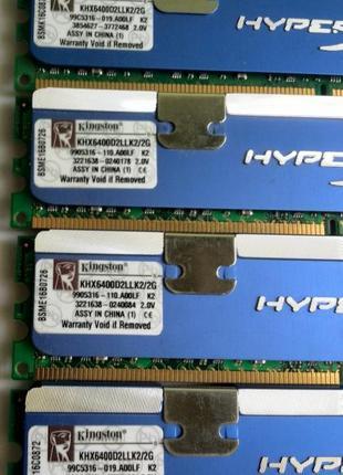 ОЗУ Hyperx 2GB (2x1GB) DDR2 800 MHz
