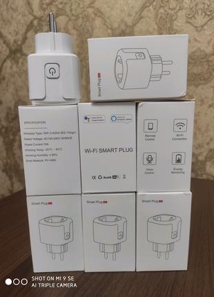 Умная Wi-Fi розетка с функцией ваттметра на 16 Ампер